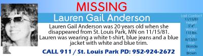 Lauren Gail Anderson Banner